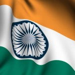 Rendered Indian Flag